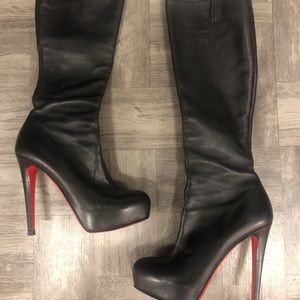c880e9a8be1 Christian Louboutin Over the Knee Boots for Women | Poshmark